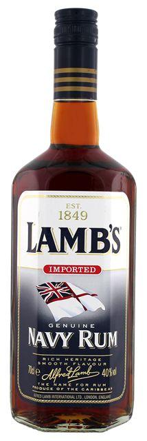 Lambs Navy Rum online bestellen in Nederland en in Belgie