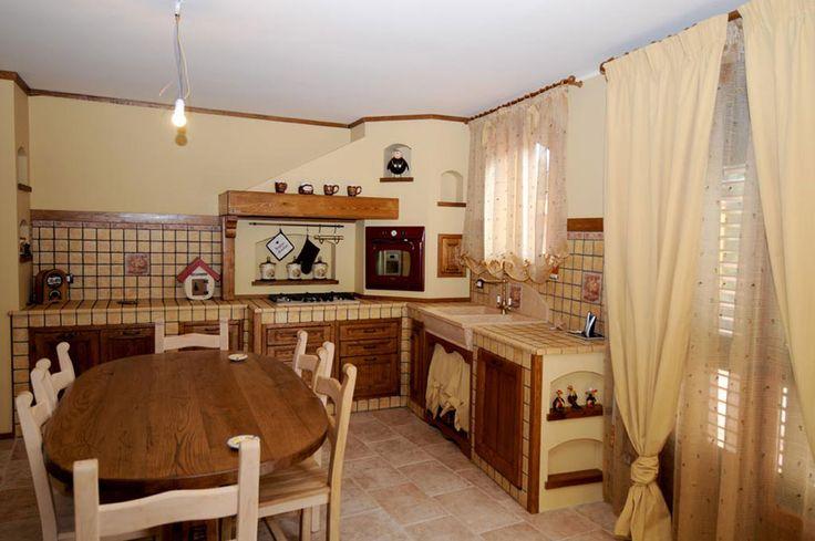 Oltre 25 fantastiche idee su cucine rustiche moderne su - Cucine in muratura rustiche prezzi ...