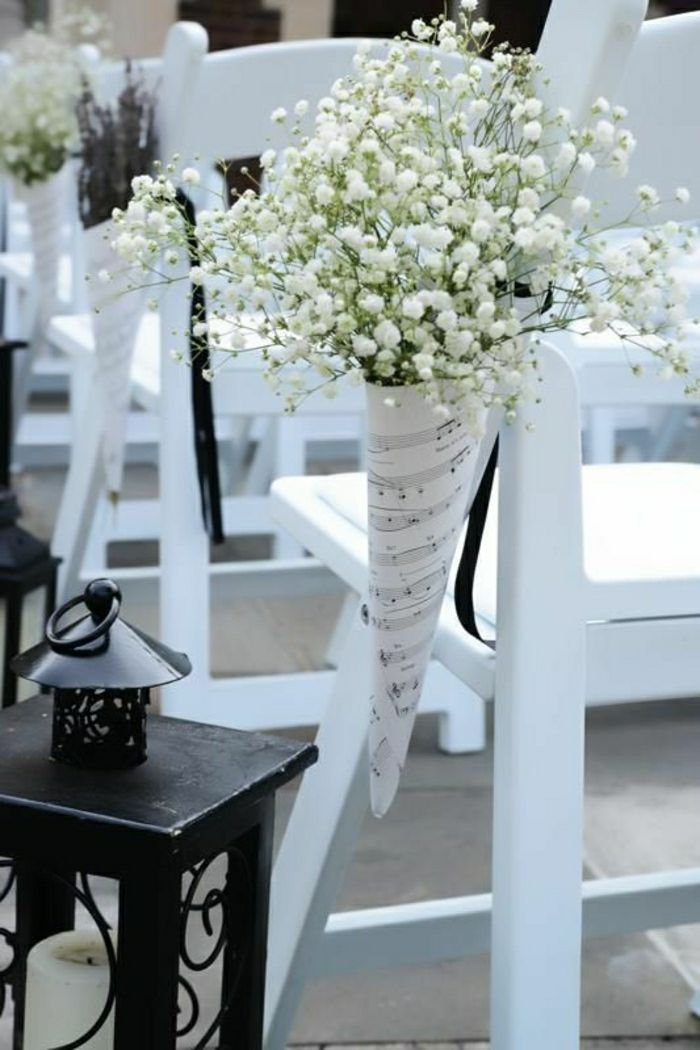 Wedding Decor for Chairs – 111 Fascinating Ideas – Archzine.net