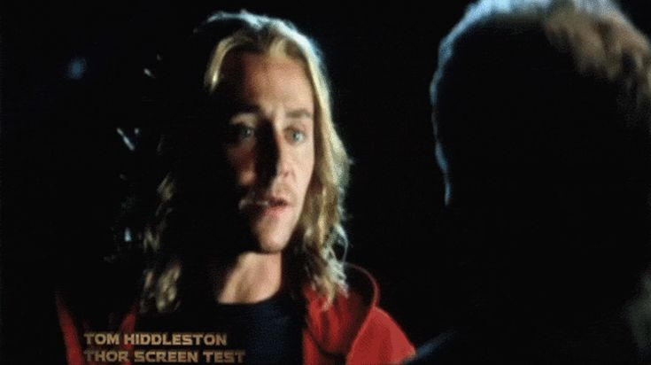 Tom Hiddleston's audition to be Thor
