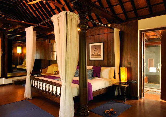 When its time to relax after the day's experience at the #Retreat you can pamper yourself in the beautiful #Cottages that have been resorted from the original #Tharvad houses of #Kerala - A true #RareIndia #Experience Explore More: http://bit.ly/1mhfZ5H