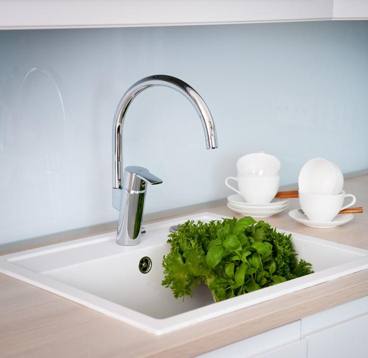 Oras Cubista kitchen faucet (2839F)