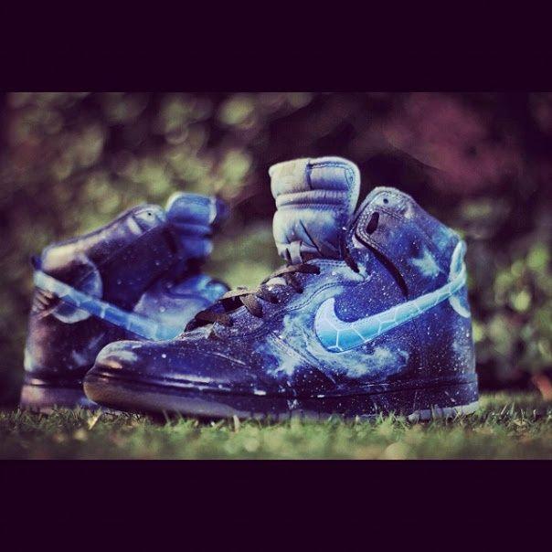 Custom Nike Galaxy Dunks #nike #dunks #galaxy #sneakers