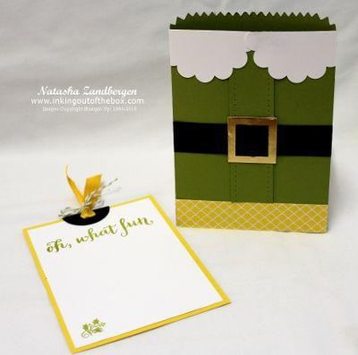 Elf gift card holder-1