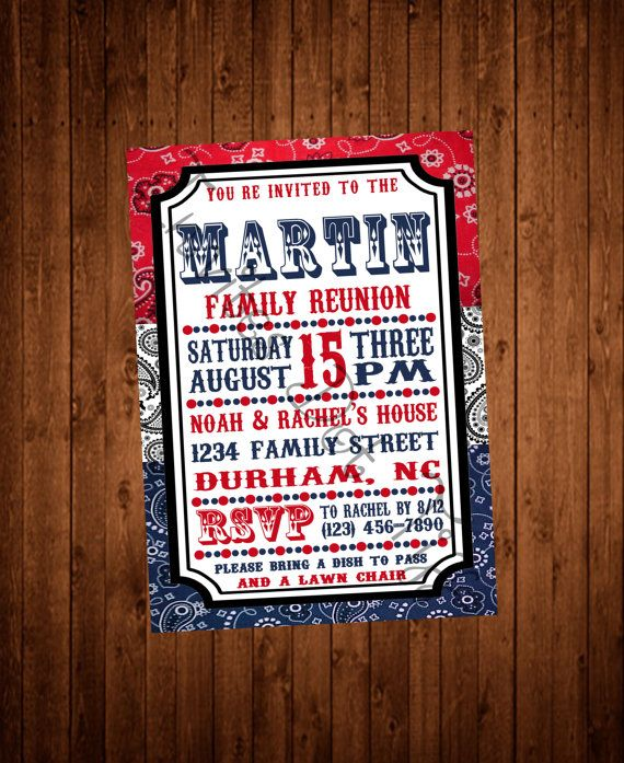 7 best Family Reunion Invitations images on Pinterest Family - fresh invitation meeting