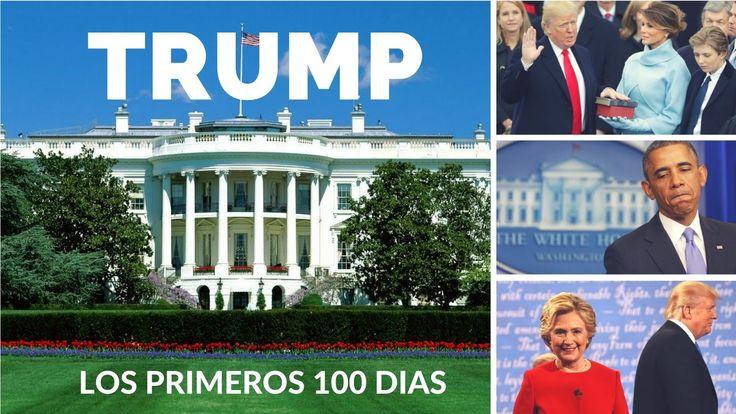 los primeros 100 Dias del presidente de EE.UU. Donald Trump.