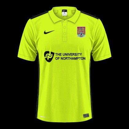 Northampton Town 3rd kit for 2016-17.