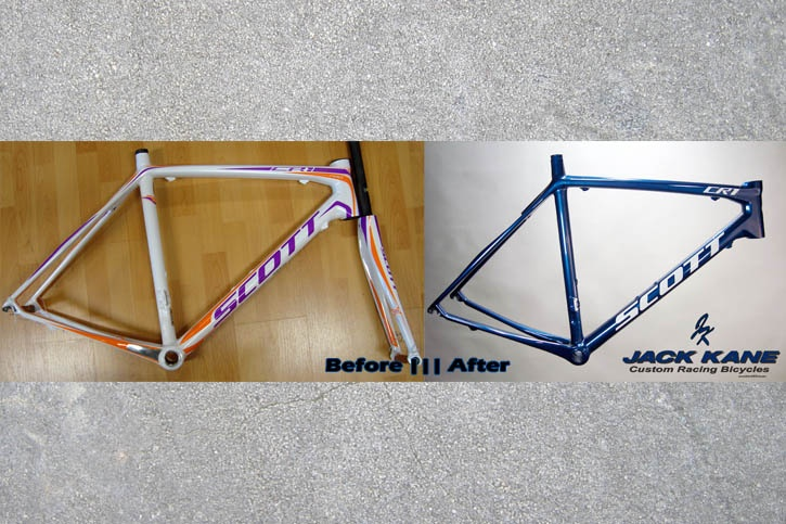 Before & After Scott CR1.