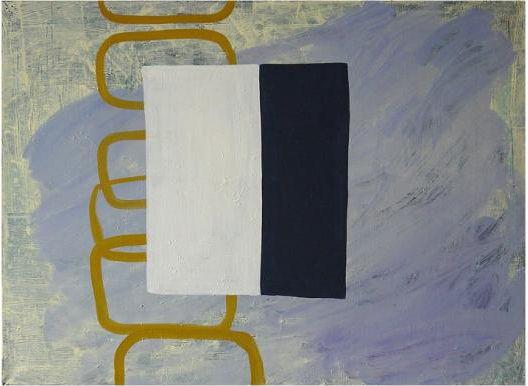Becky Yazdan,  OMGMRI, 2012, oil on linen, 36 x 48 inches.