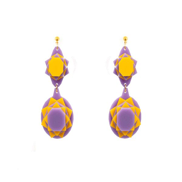 BAGUERA | VECTORY OVAL YV MID EARRINGS