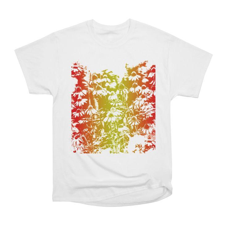 Coneflowers Women's Classic Unisex T-Shirt by marsartpics Artist Shop