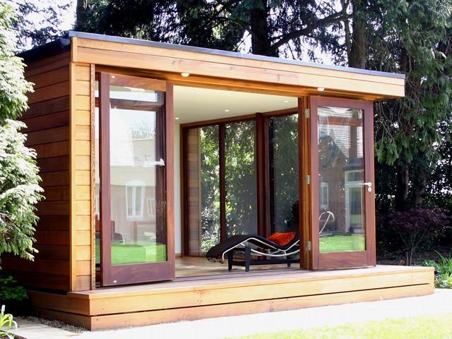 Outdoor Garden Offices, Bespoke, Contemporary Office Buildings | The Garden Escape