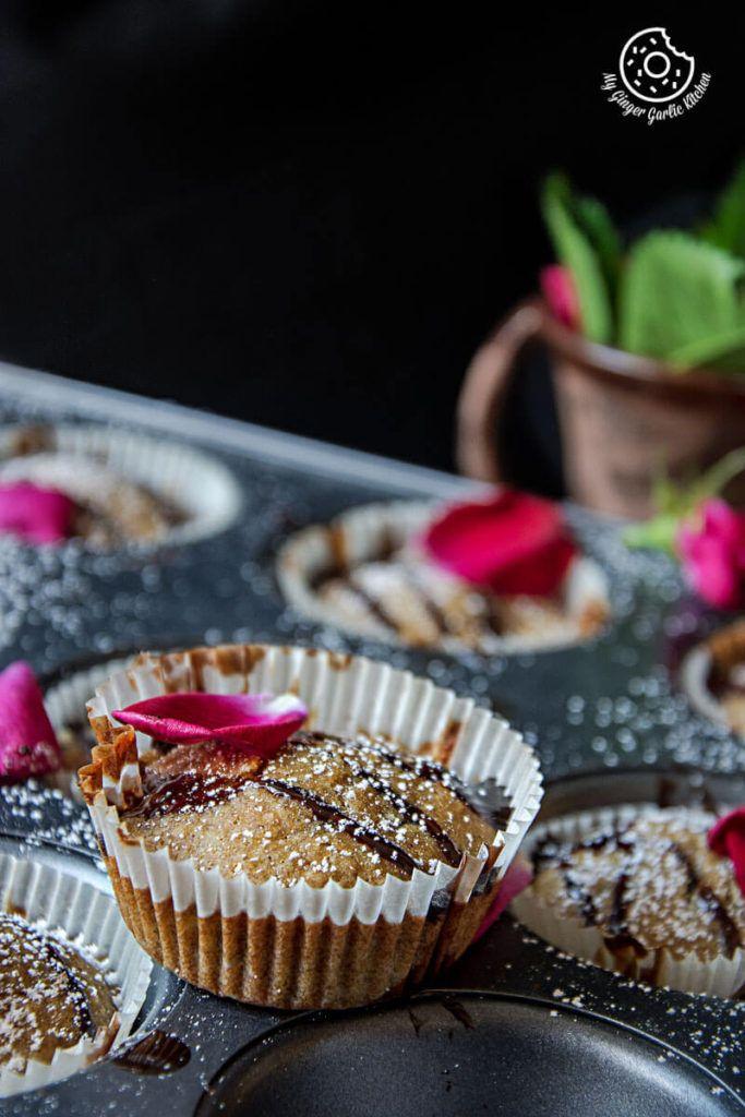 Eggless Oats Orange Muffins 3 Ways   mygingergarlickitchen.com/ @anupama_dreams