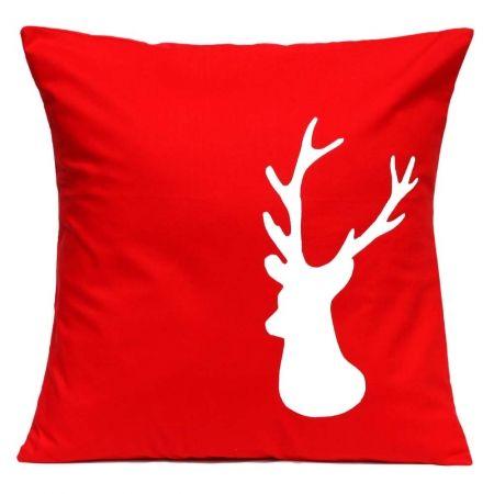 Reindeer handmade cushion cover - hardtofind. #hardtofind #hard #find # holiday #xmas #christmas #decoration