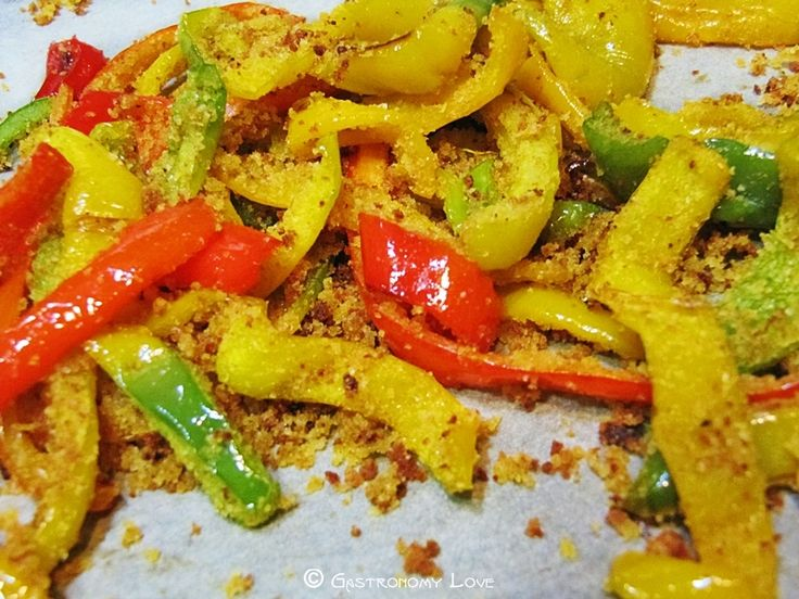 Stick di peperoni croccanti al forno | Gastronomy Love
