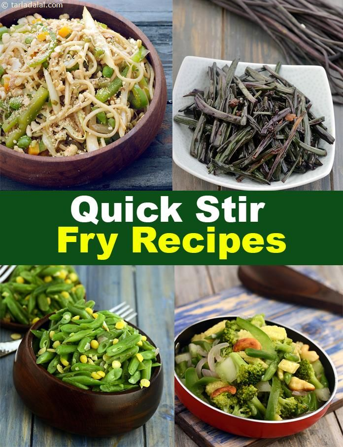 Quick Stir Fry Recipes 110 Indian Vegetable Stir Fry
