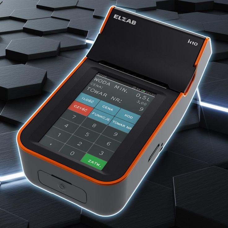 Elzab K10 - kasa fiskalna z panelem dotykowym. Dzięki temu możesz ją obsługiwać niczym smartfon.