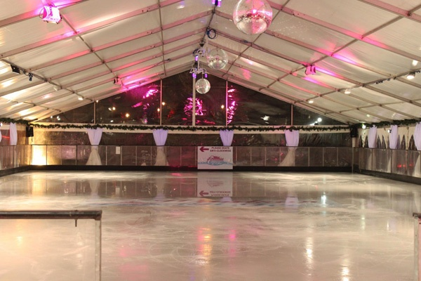Windsor On Ice - the ice rink at Alexandra Gardens