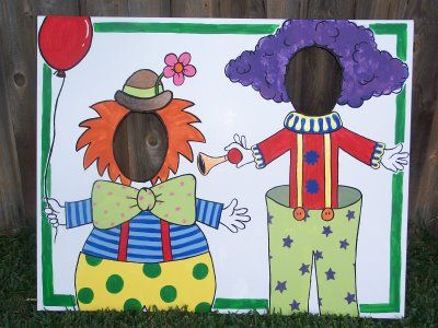 Cute for circus themed end of year party, but how to paint this???