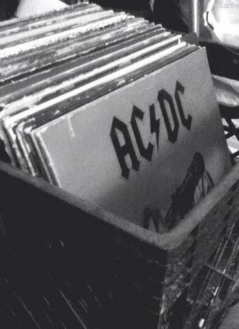 aesthetic rock dc ac roll acdc wall preto branco 80s classic band bands retro background foto collage papel punk chaserbrand