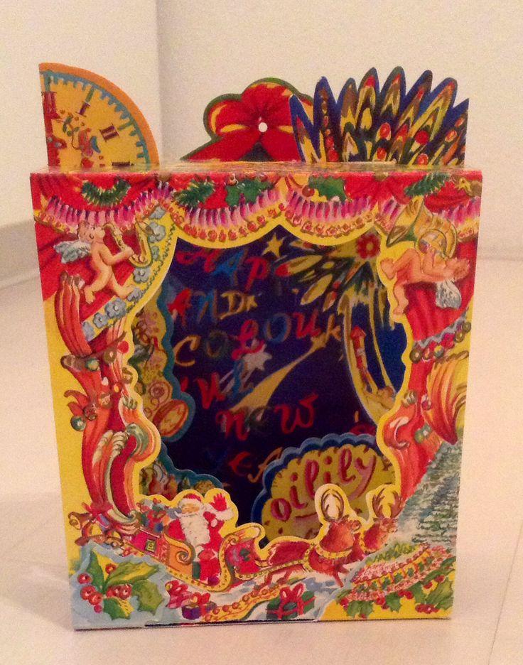 Oilily Christmas Card 1989, Oilily Club