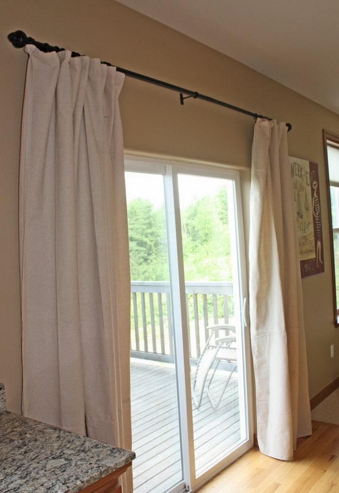 25 Best Ideas About Curtains For Sliding Doors On
