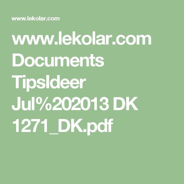 www.lekolar.com Documents TipsIdeer Jul%202013 DK 1271_DK.pdf