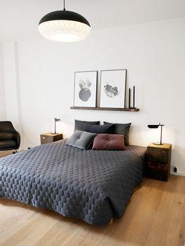 Z-Huset in Aarhus | Bent Hansen #NO.9cushion #puder #velour #cushions #velvet #soveværelse