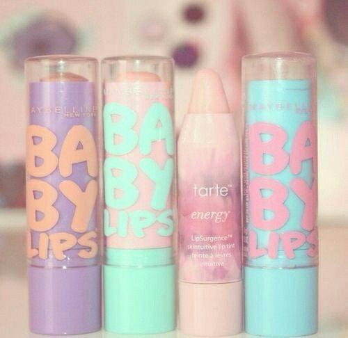 Pastel baby lips
