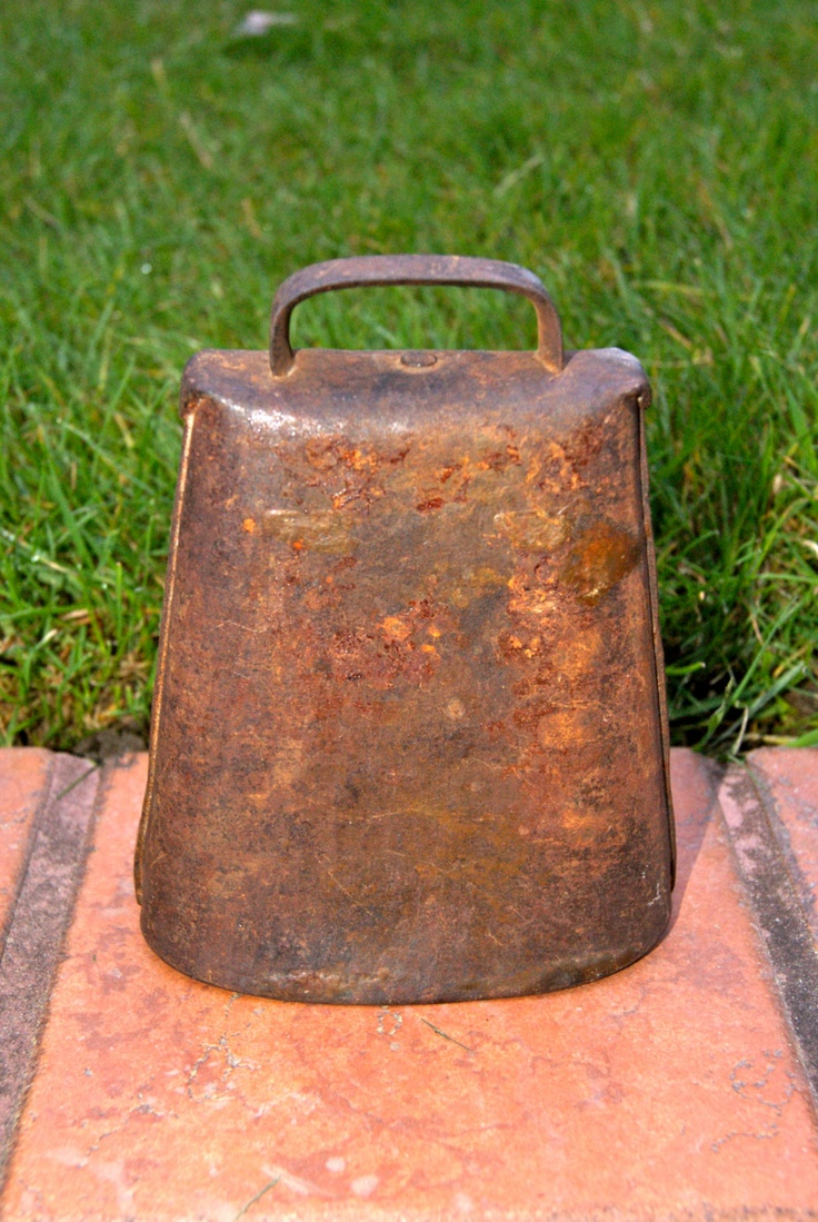 how to clean old cow bells