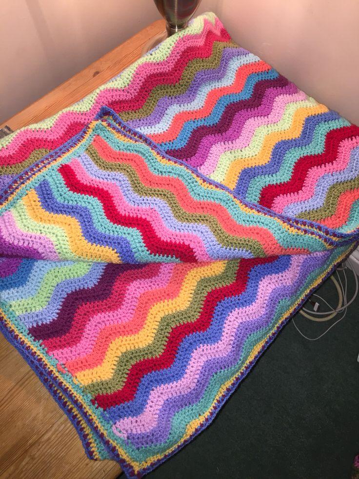 Attic 24 ripple blanket