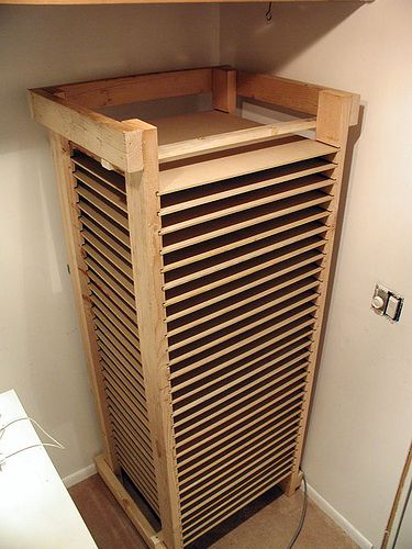 Screen Storage Racks : Best images about awesome screen printing diy projects