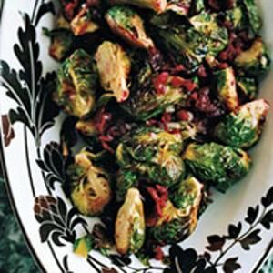 Roasted Brussels Sprouts with Cranberry Brown Butter from Food & Wine, found @Edamam!
