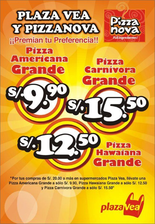 Flyer - Pizza Nova