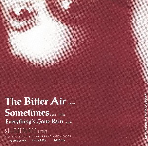 back of Lorelei - The Bitter Air
