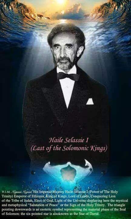King Selassie I