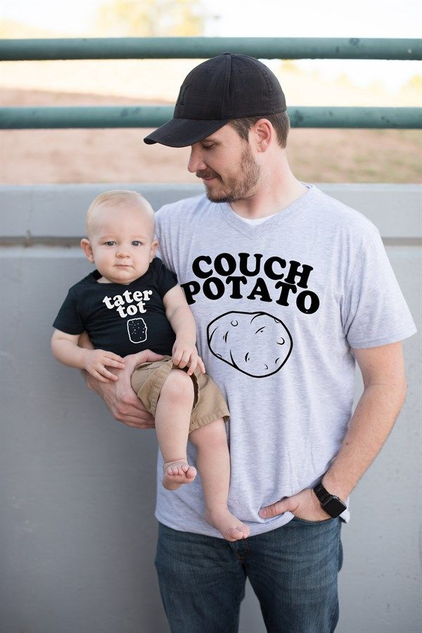 Celebrate DAD with special matching shirts that proclaim just how AWESOME he is!