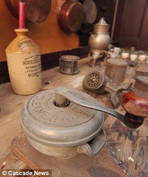 Victorian kitchen discovered in historical house in England
