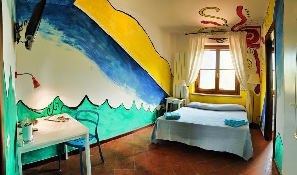 Riccardo - camera singola o matrimoniale con bagno a partire da 30 euro