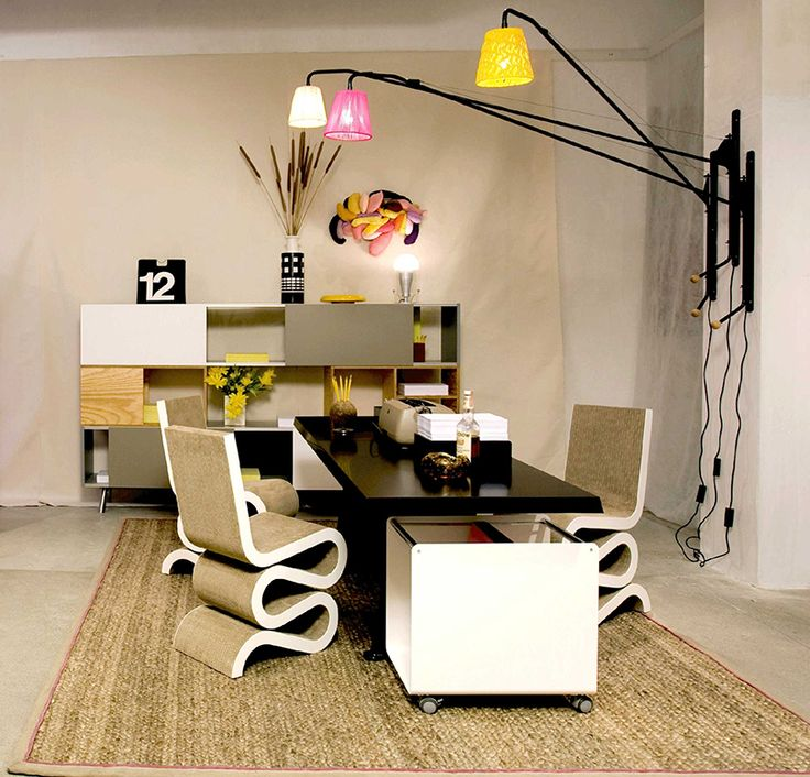 Scenic compact modern home office furniture