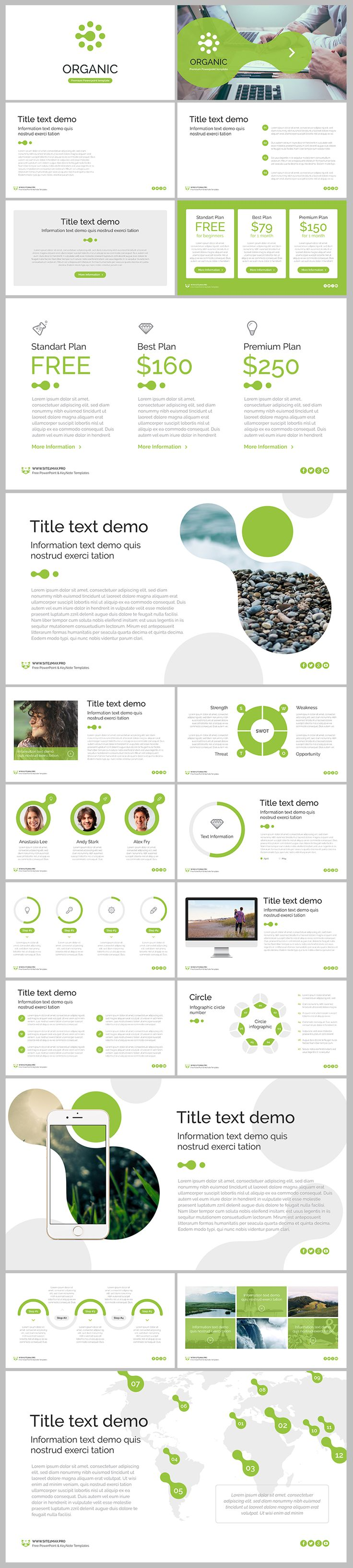 plan on a page template powerpoint
