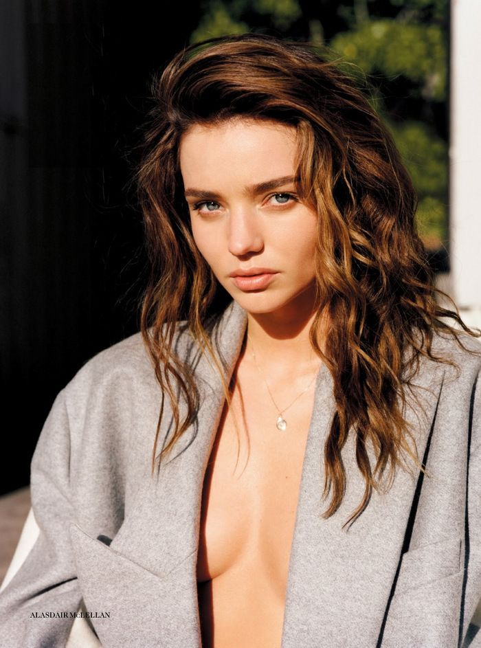 Under Cover with Miranda Kerr in Vogue UK