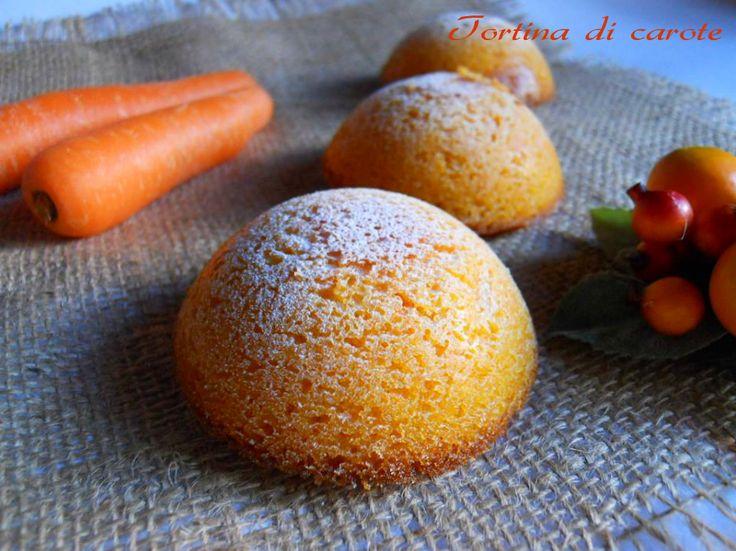 Tortine di carote, ricetta dolce