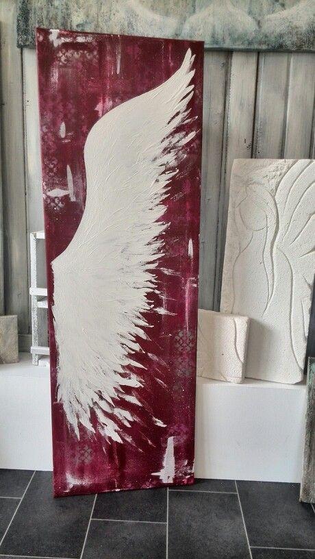 Original Painting Angel Wing by HellyH #art