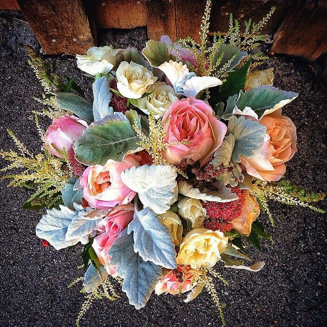 Bridal Bouquet handmade with love at the barn in Breck.   Photo by Stacy Sanchez  petalandbean.com breckweddings.com  #breckweddings