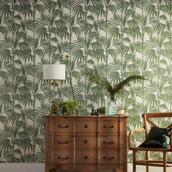 Palm tree wall paper