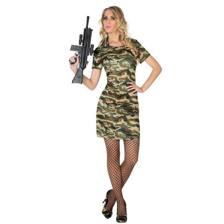 Disfraz de Militar para mujer #disfraces #carnaval #novedades2016