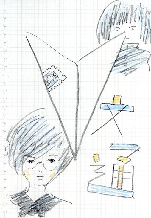 """青春百景→今週のテーマは""""文通""""です。 http://seishun100k.tumblr.com"""