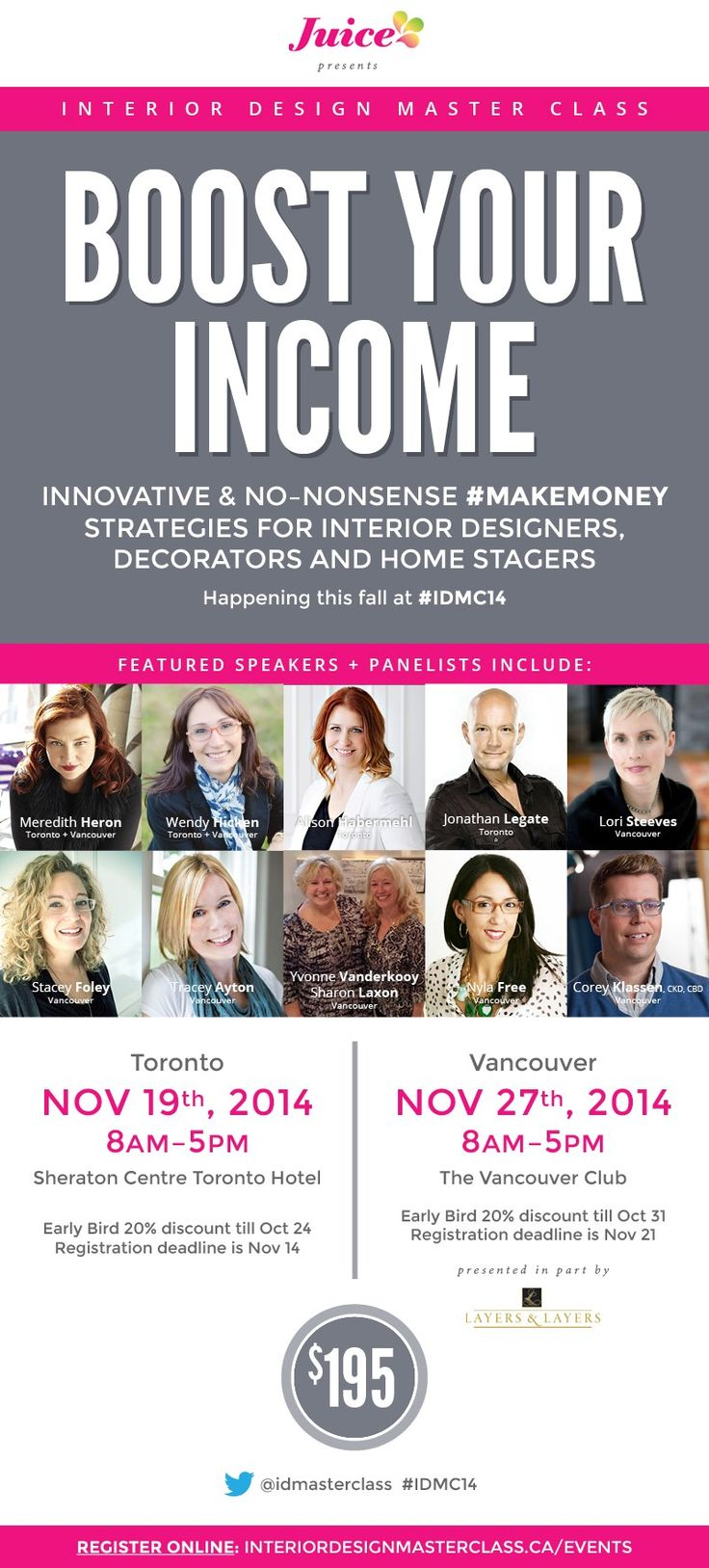 Interior Design Master Class Events Is Here!!
