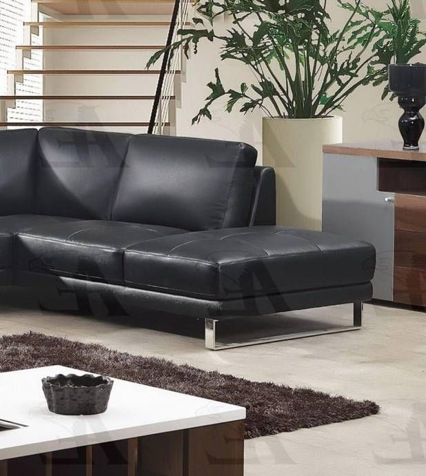 American Eagle Furniture Ek L025 Bk Sectional Sofa Right Hand Chase Italian Leather 2pcs Ek L025 Bk Set 2 Rhc Buy Online Sectional Sofa Eagle Furniture Furniture